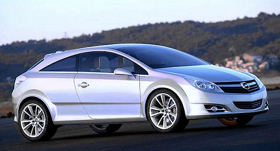 Opel GTC Geneve concept (right-front view)