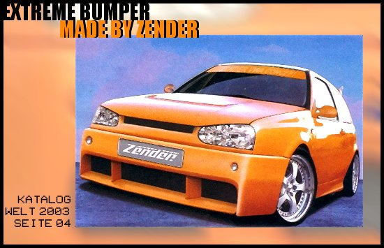Extreme Bumper made by Zender