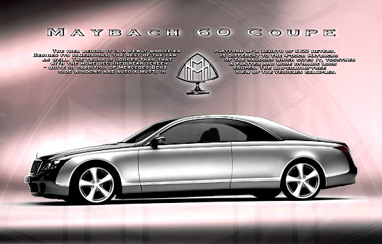Maybach 60 Coupe concept