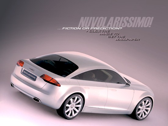 Audi Nuvolarissimo concept: FICTION OR PREDICTION? - click the image to get the wallpaper