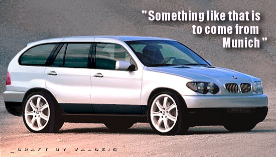 BMW SUV - 'Something like that is to come from Munich'