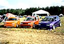 three VW Golf (MkIII/MkIV)