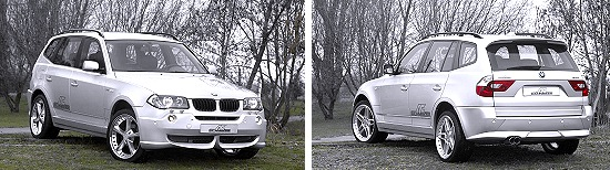 BMW X3 by AC Schnitzer in 2 views
